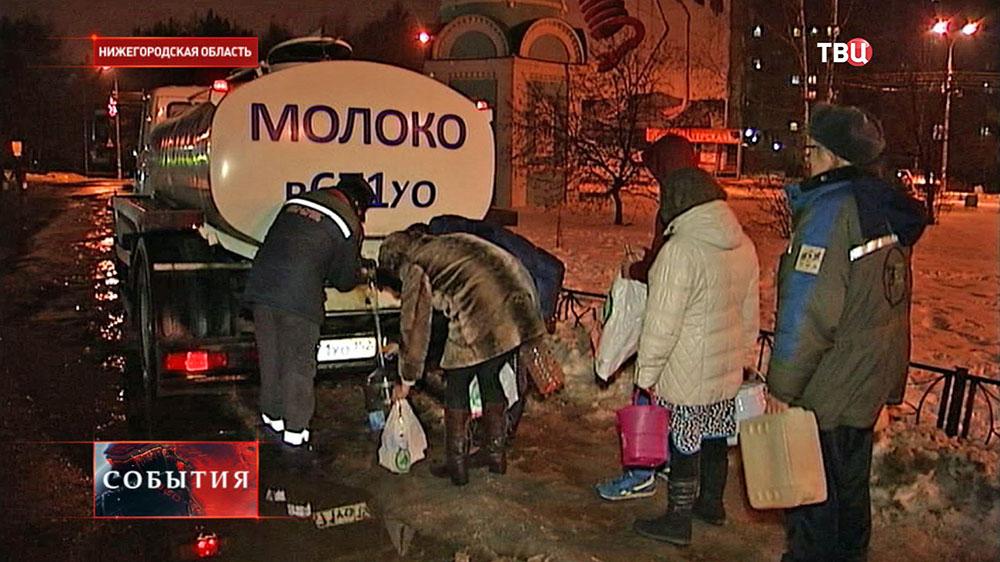 Жители Нижегородской области запасаются водой