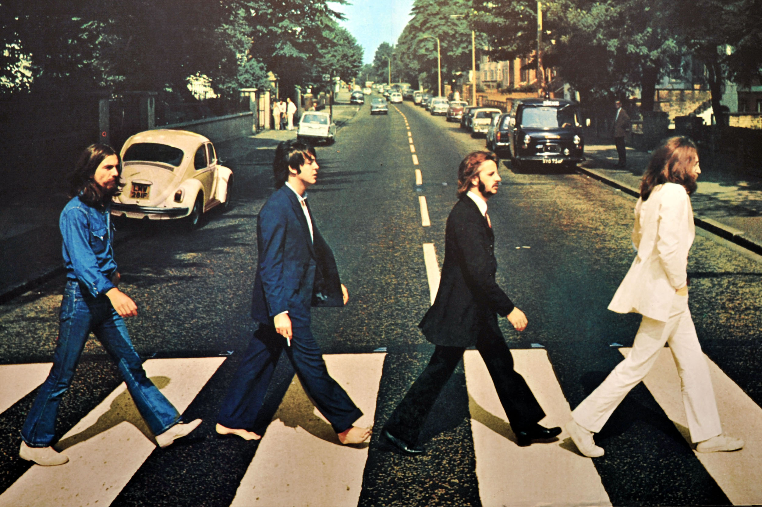 a review of abbey road an album by the beatles