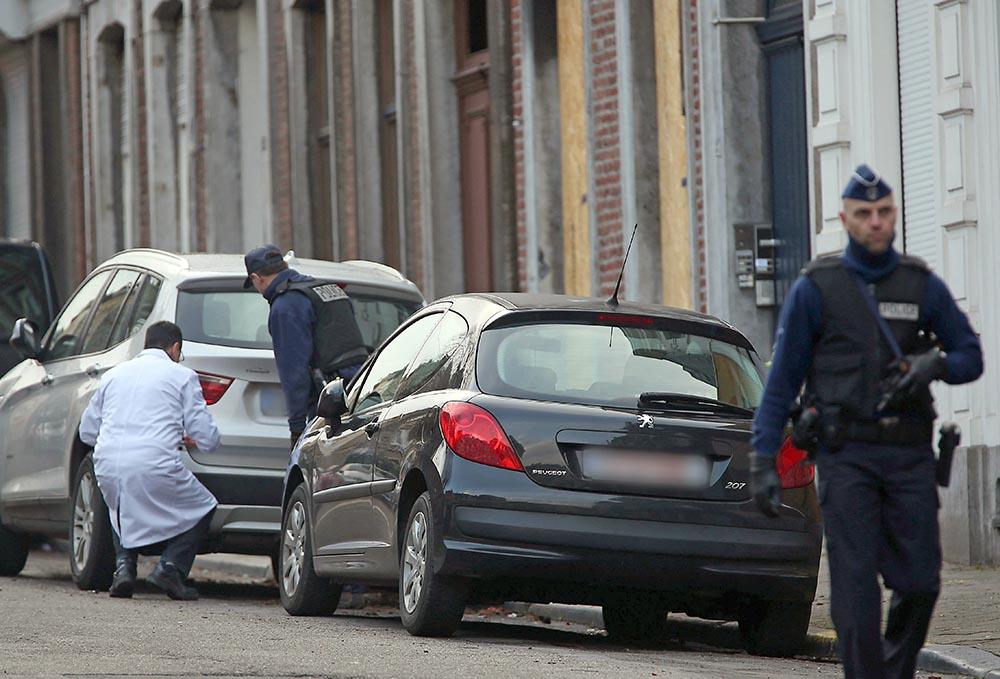 Следственные действия бельгийской полиции