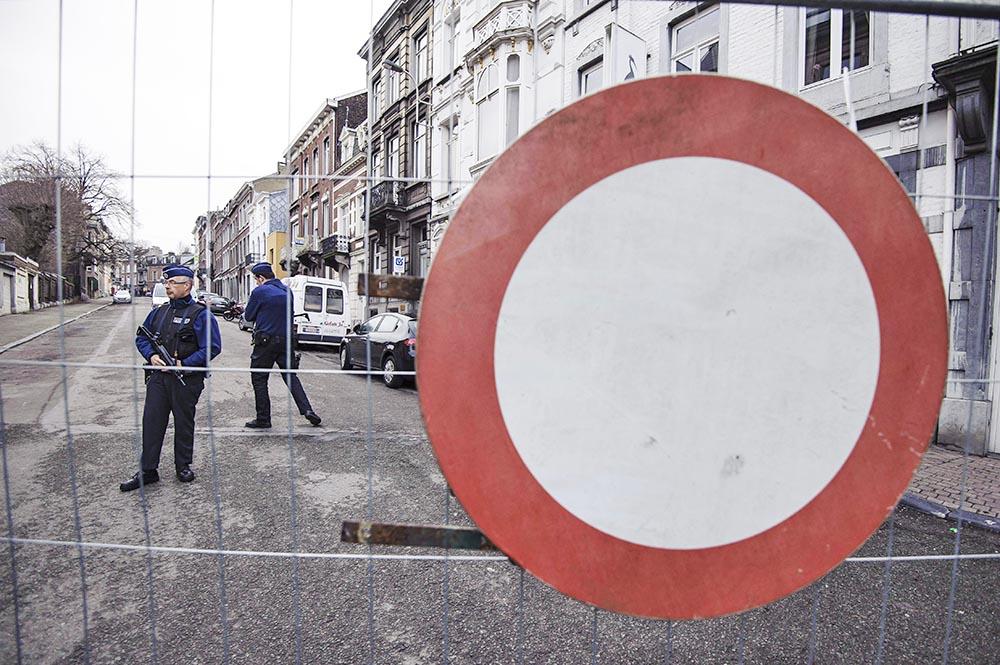 Полиция Бельгии перекрыла место происшествия