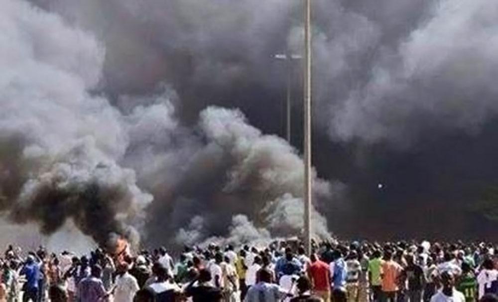Уличные протесты в Нигере