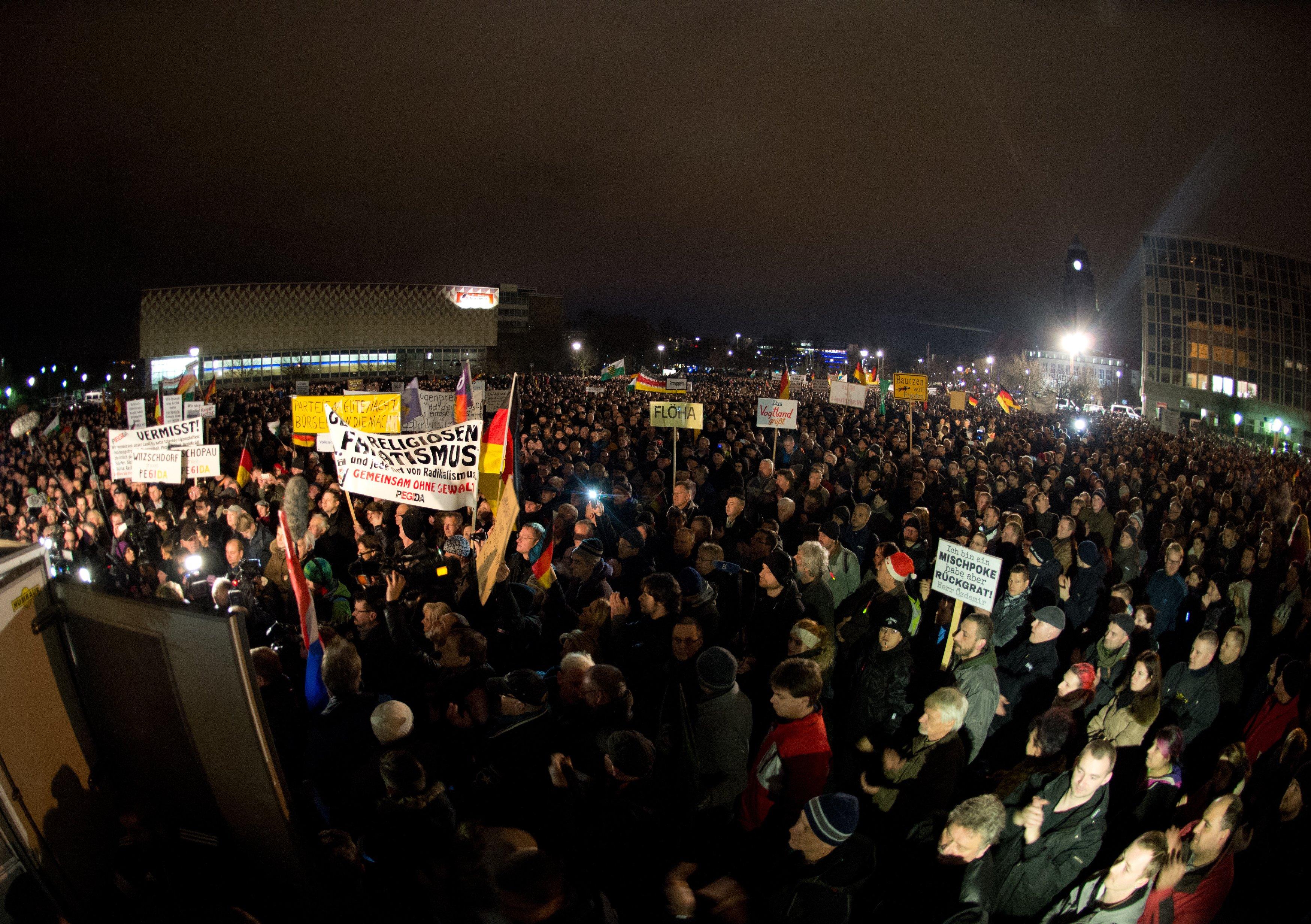 Акция против исламизации Европы
