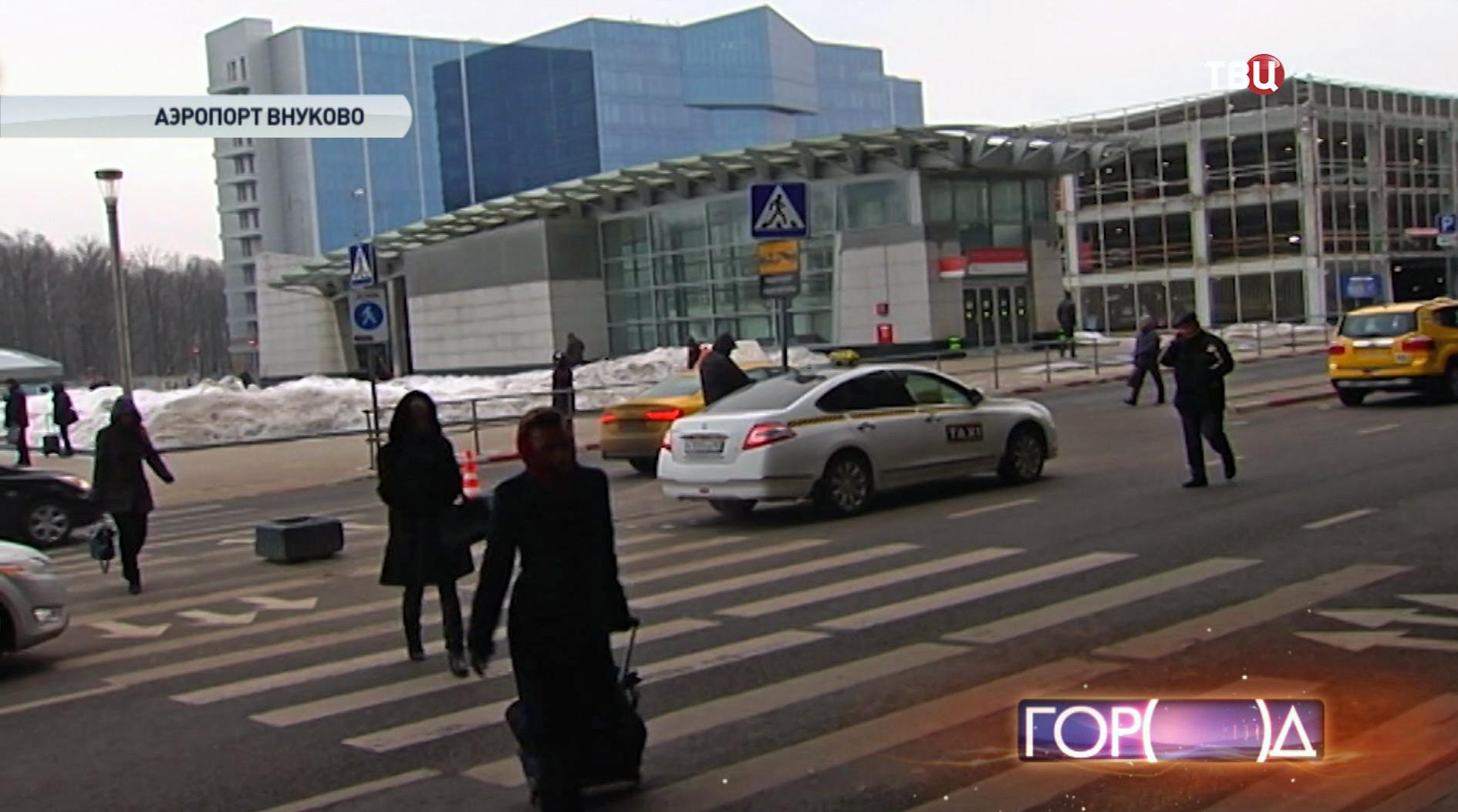 схема движение по аэропорту внукого