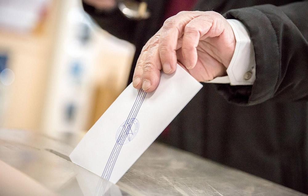 Голосование в Греции