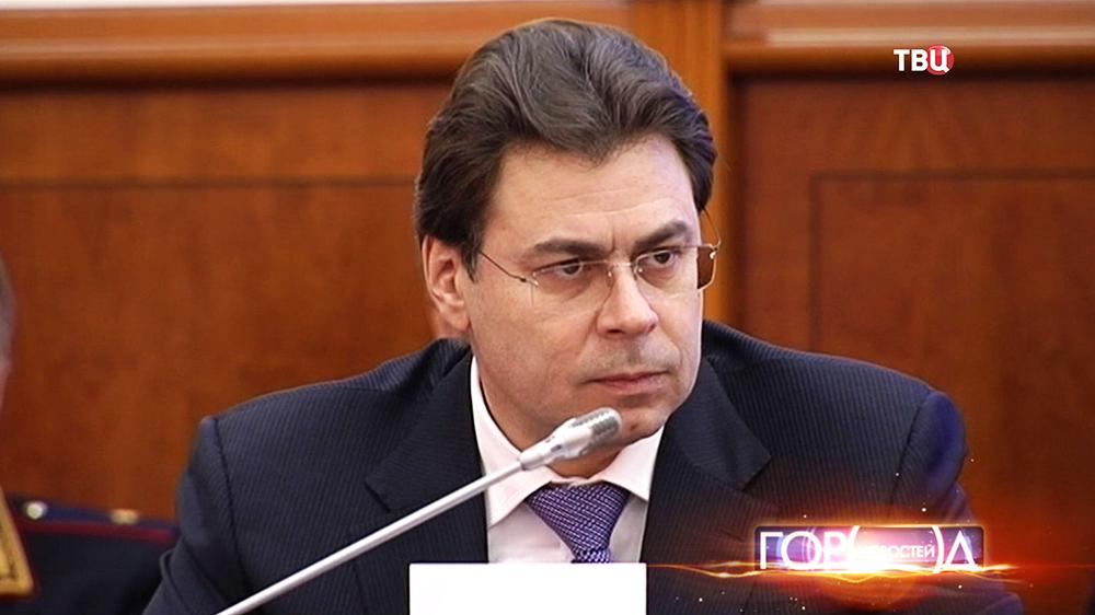Заммэра Москвы по вопросам региональной безопасности и информационной политики Александр Горбенко