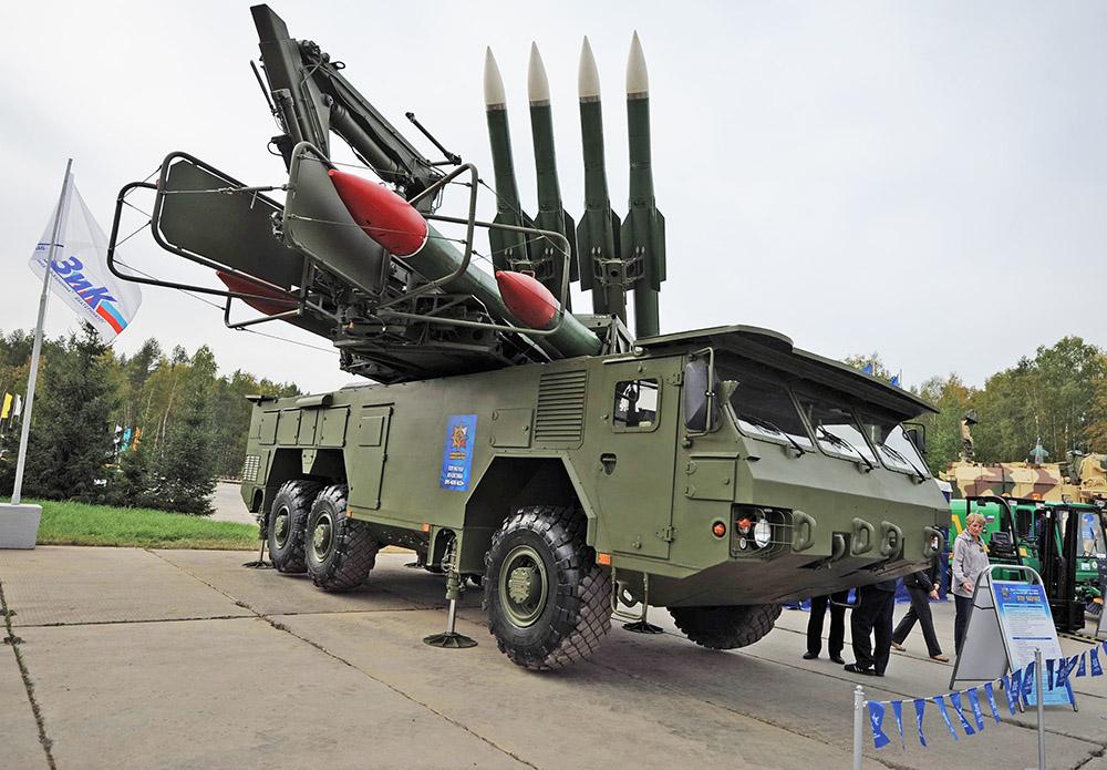 Система ПВО на выставке военной техники России