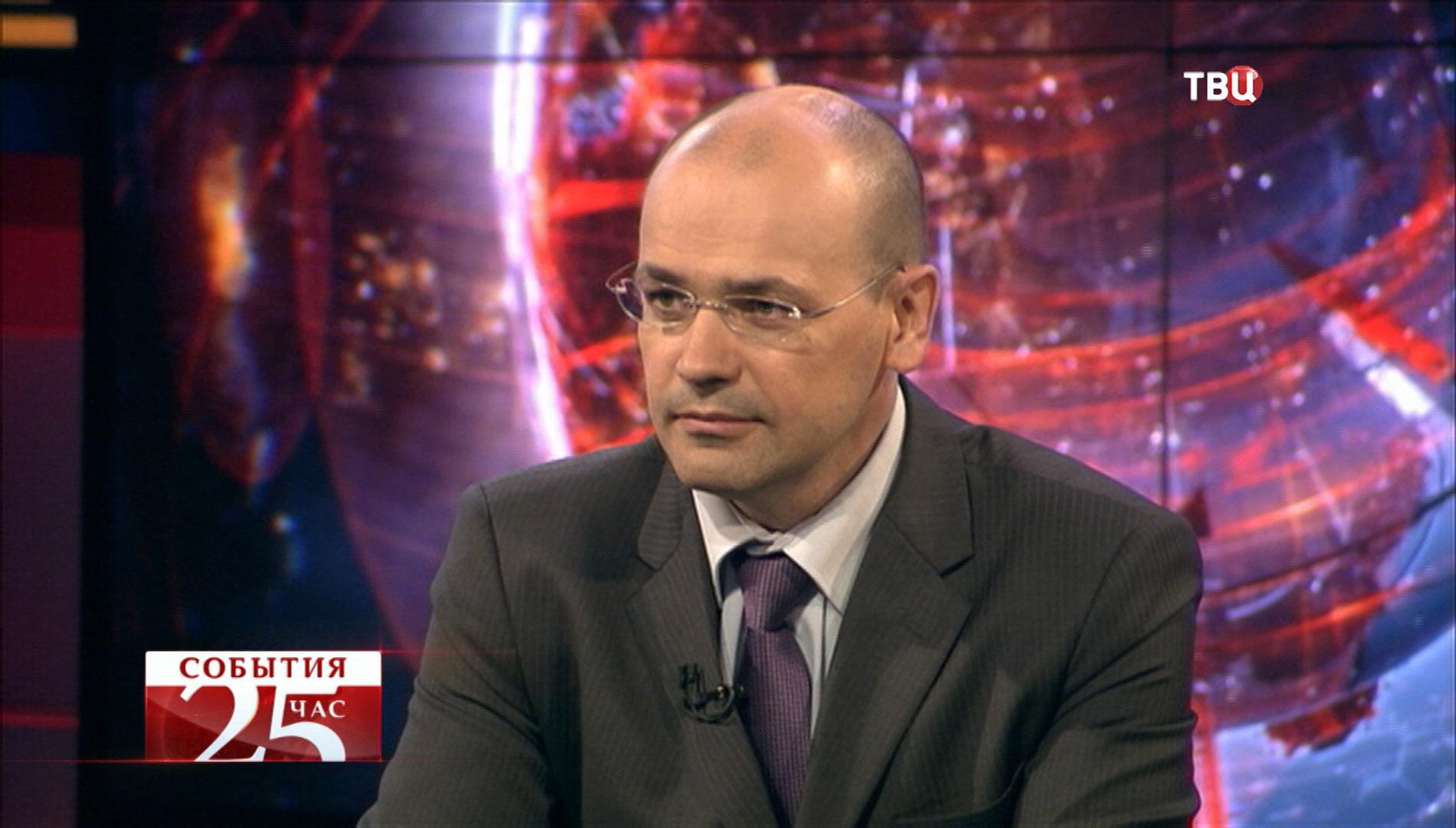 Первый проректор Финансового института при правительстве РФ Константин Симонов