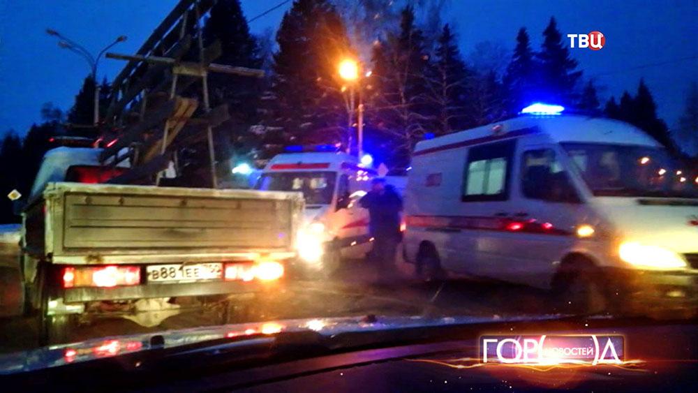 В ДТП в Новой Москве