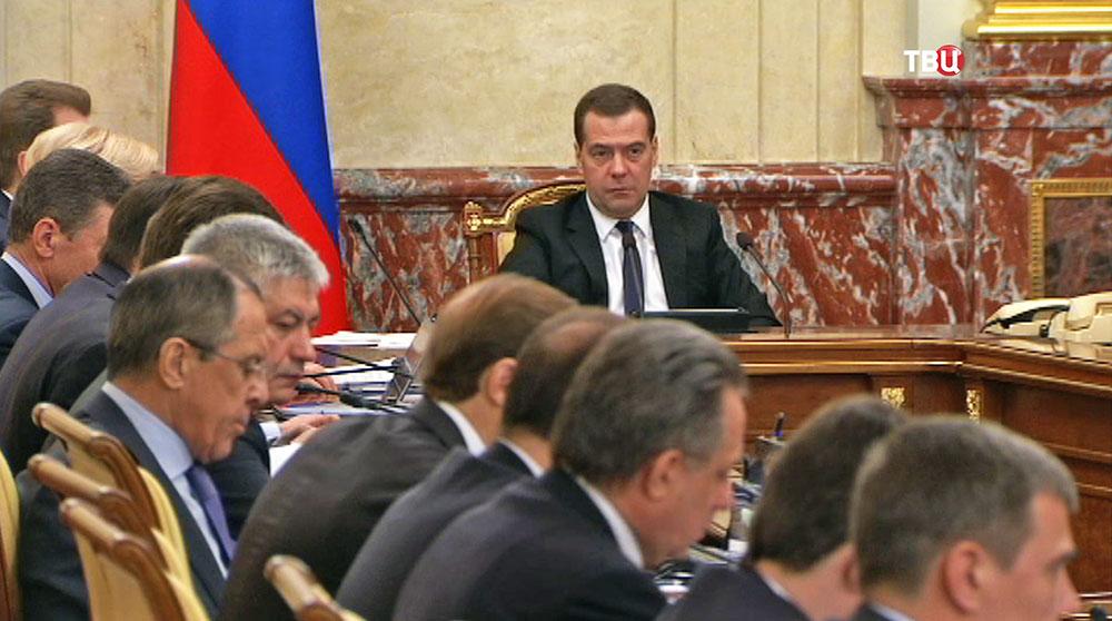 Дмитрий Медведев провел заседание правительства РФ
