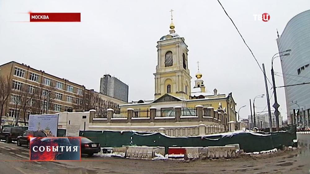 Строительство храма в честь святого праведного Алексия Московского