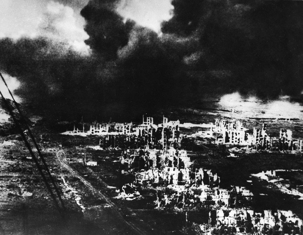 Руины Сталинграда, начало 1943 года