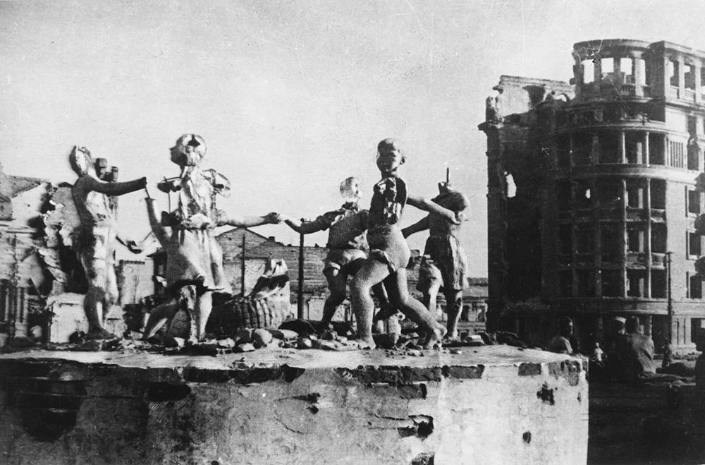 Разрушенный в ходе боёв Сталинград