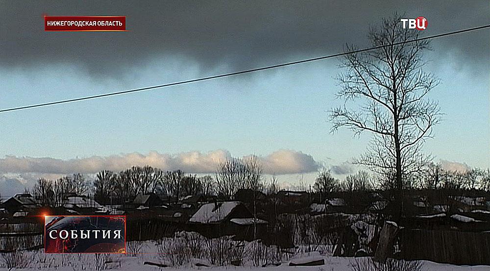 Деревня в Нижегородской области
