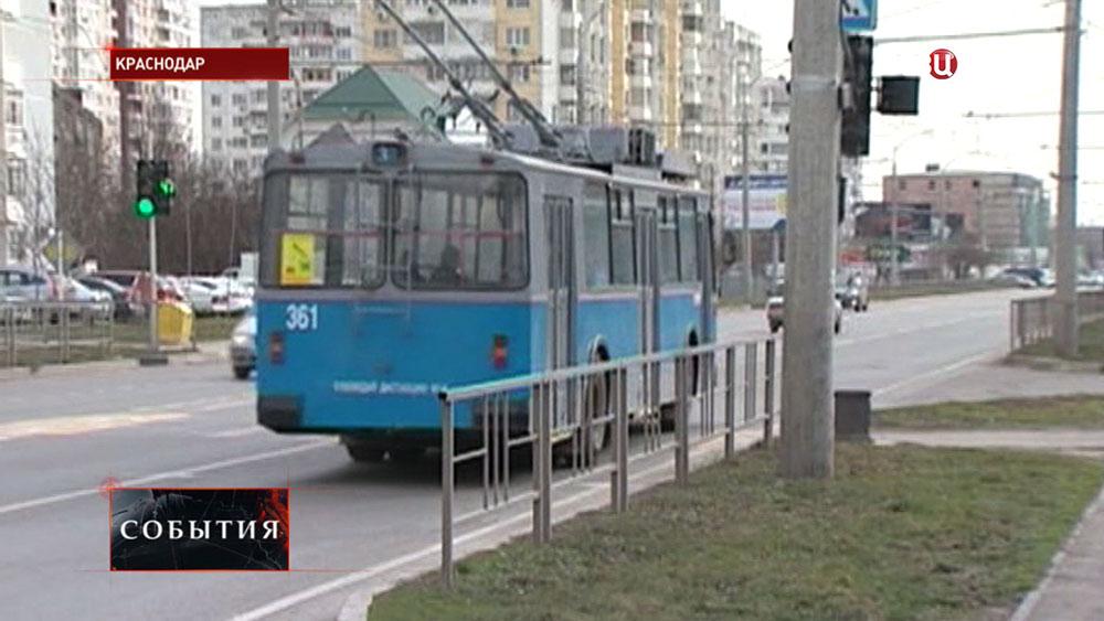 Троллейбус в Краснодаре