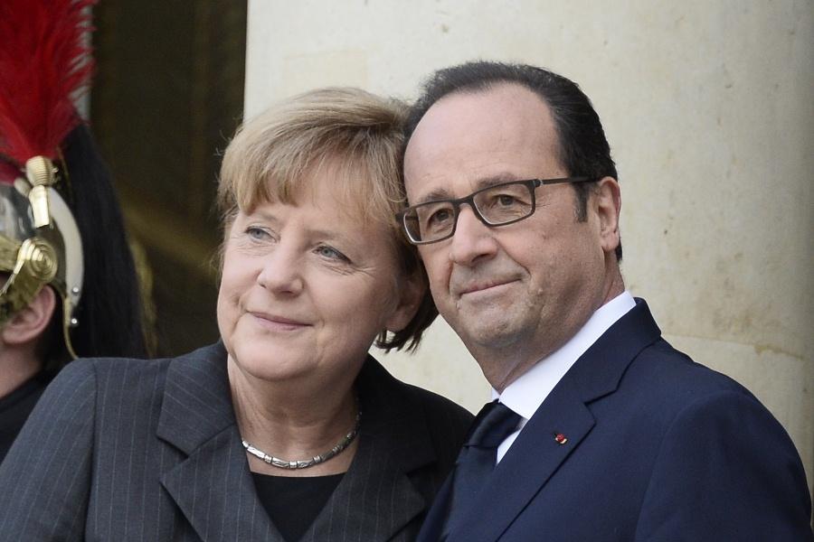 Меркель и Оланд