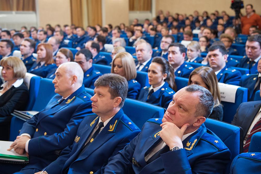 Расширенное заседание коллегии прокуратуры города Москвы
