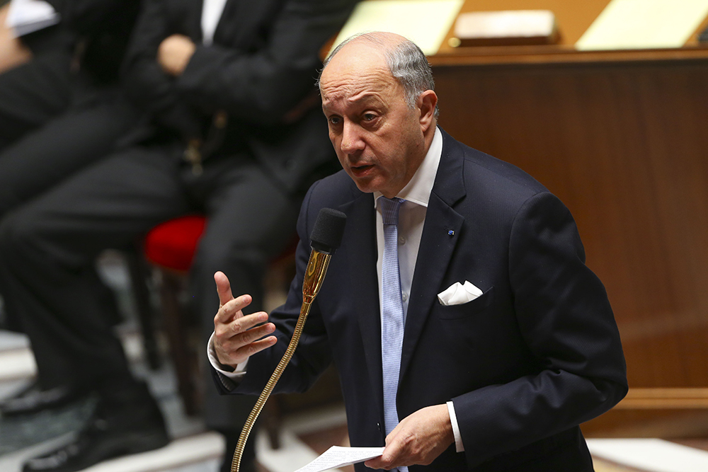 Глава МИД Франции Лоран Фабиус