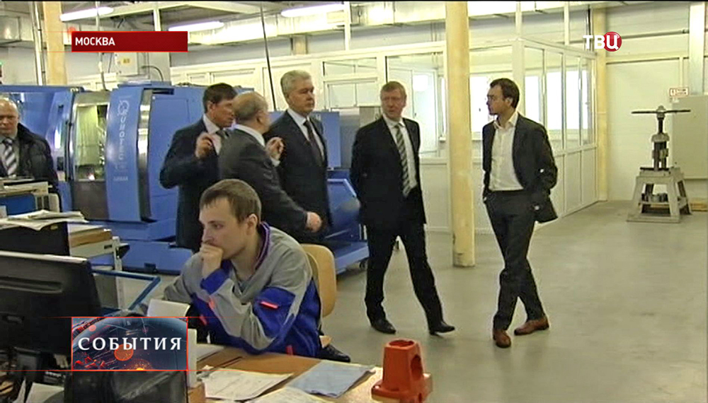 Сергей Собянин посетил Троицкий технопарк