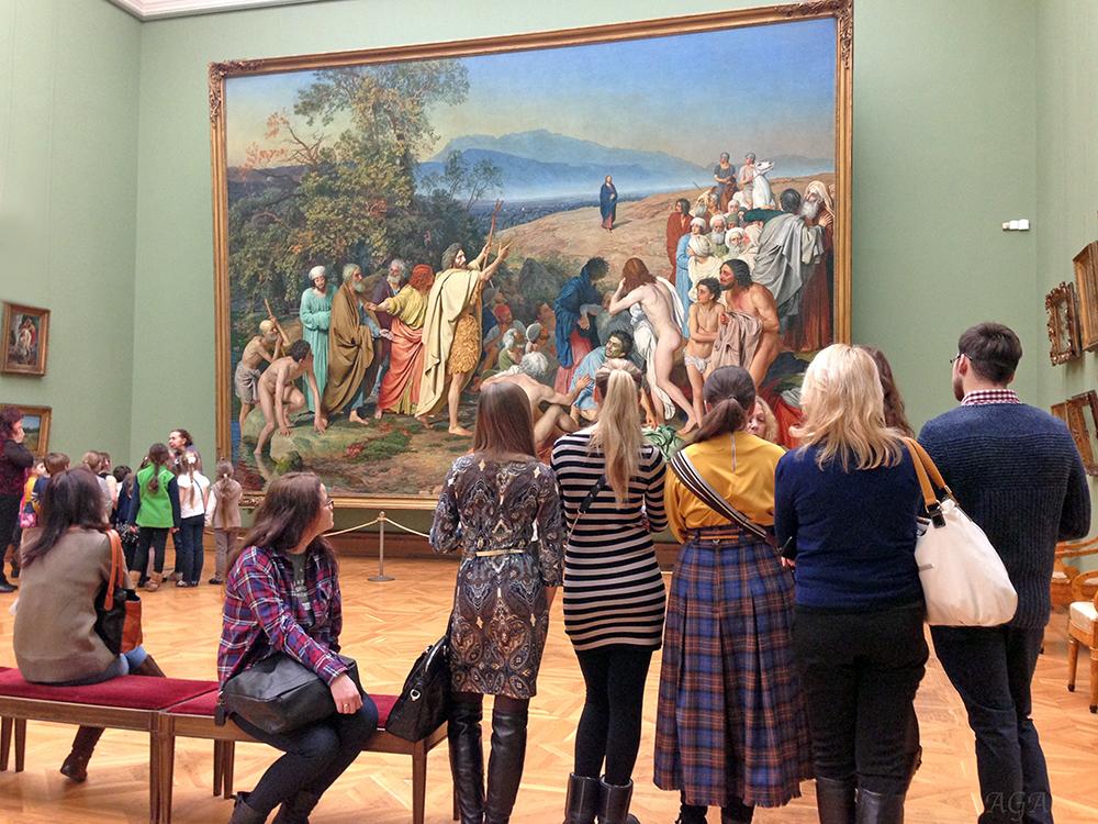Экскурсия в Третьяковской галерее