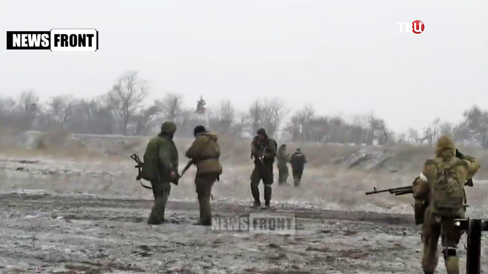 Военные действия в Донецкой области