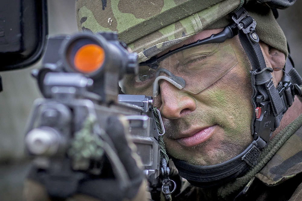 Военослужащие сил НАТО