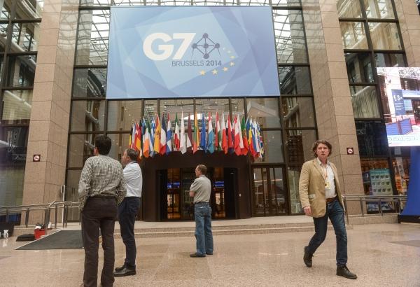 Здание Совета Евросоюза в Брюсселе