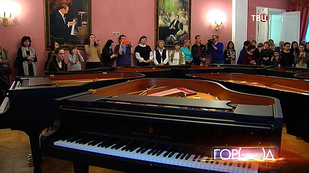 Музыкальной школе им. Гнеисных