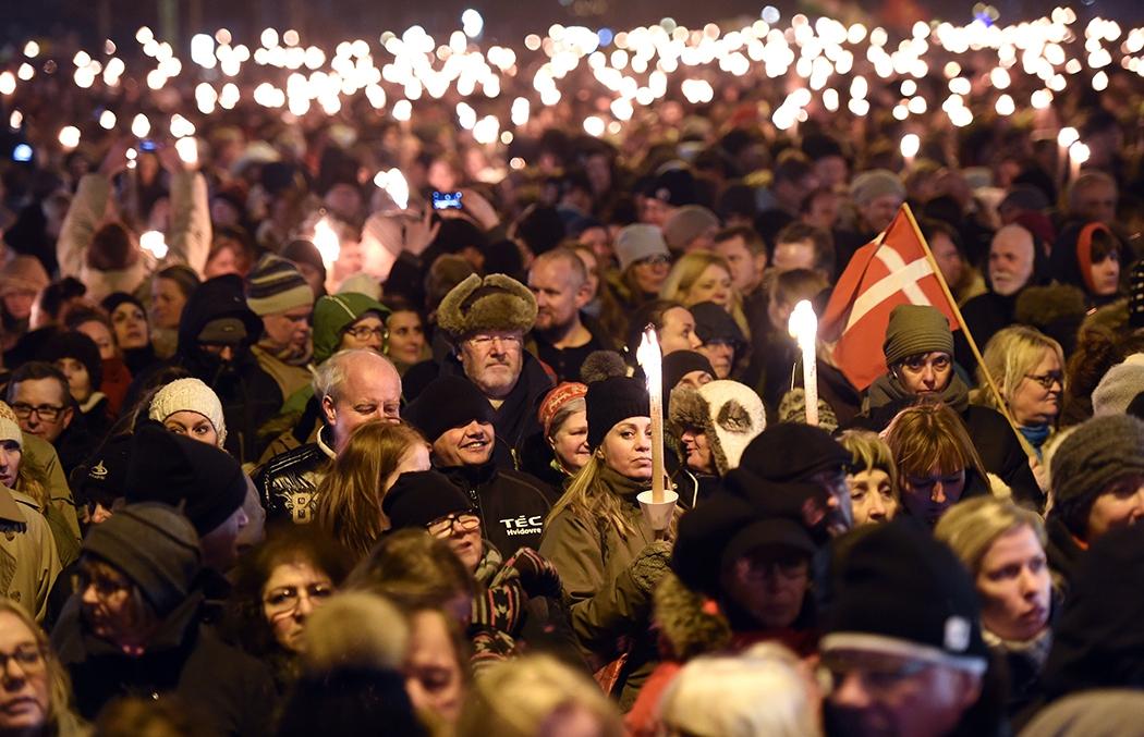 Траур в Дании