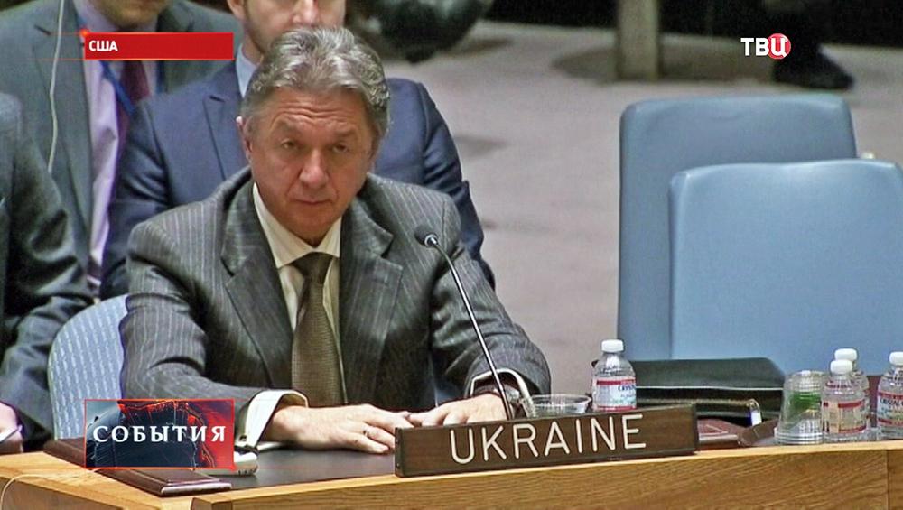Постпред Украины в ООН Юрий Сергеев