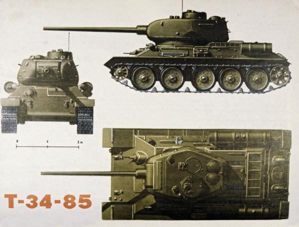 т-34-85 башня фото