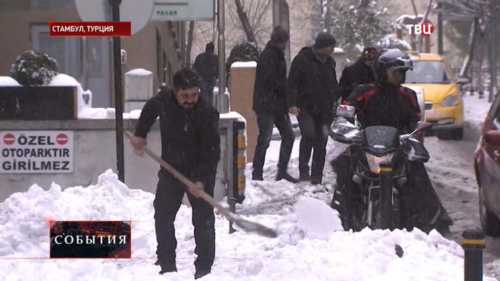 Снег в Турции