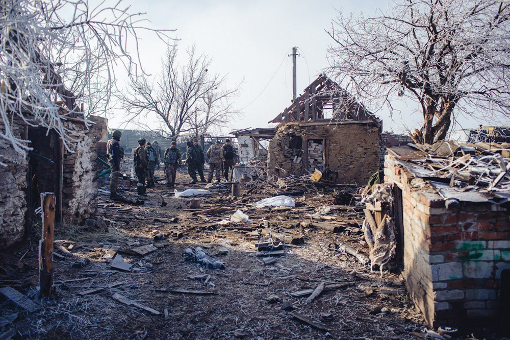 Последсвия военных действий в Донецкой области