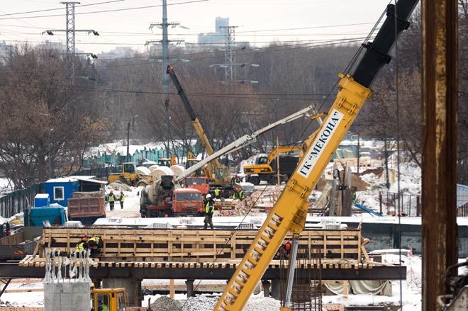 Реконструкция Коптевского путепровода