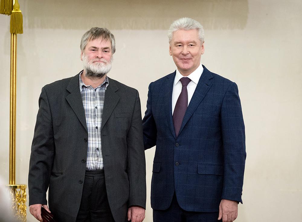 Сергей Собянин вручил государственные награды выдающимся жителям Москвы