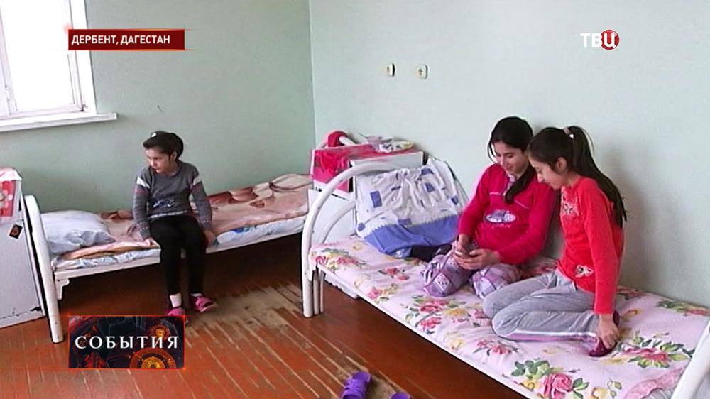 Пациенты в больнице Дербента
