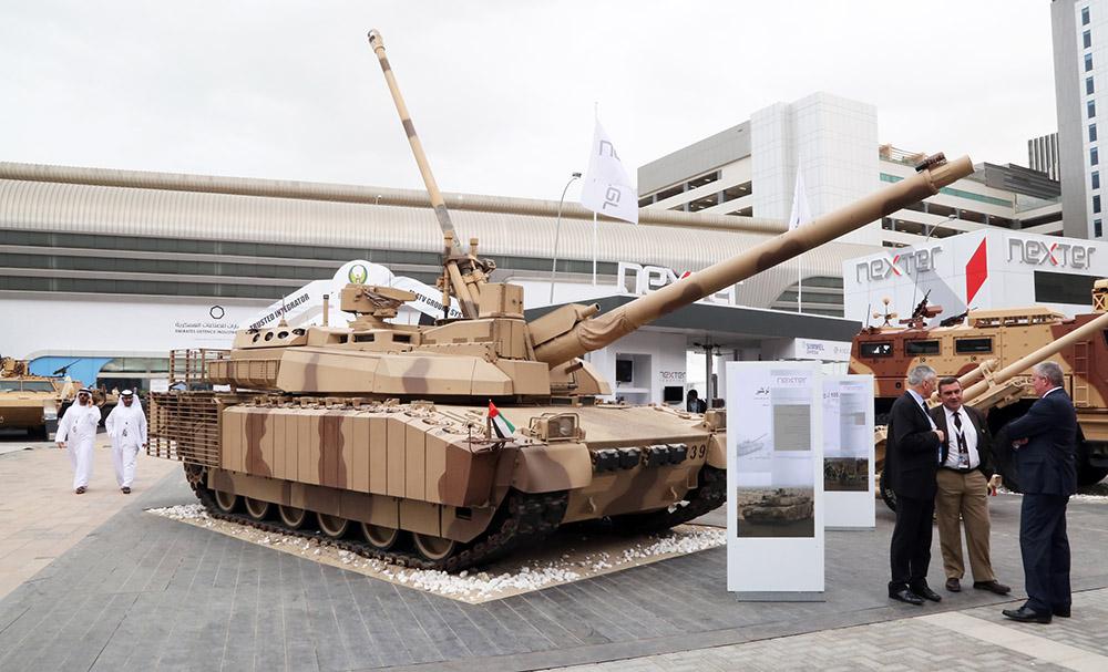Выставка военной техники в Объединенных Арабских Эмиратах