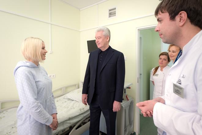 Хирургический корпус в городской клинической больнице № 29