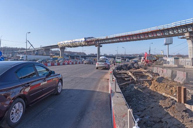 Реконструкция транспортной развязки на МКАД