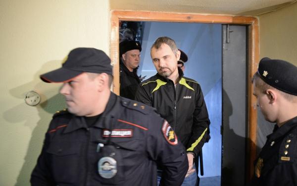 Фотограф Дмитрий Лошагин в Октябрьском районном суде Екатеринбурга