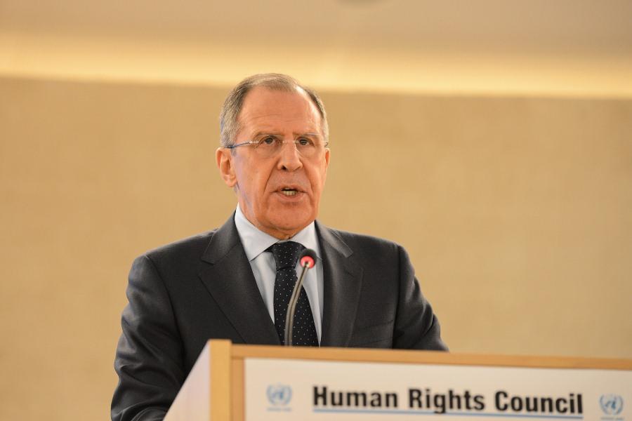Сергей Лавров на 28-й сессии Совета ООН по правам человека