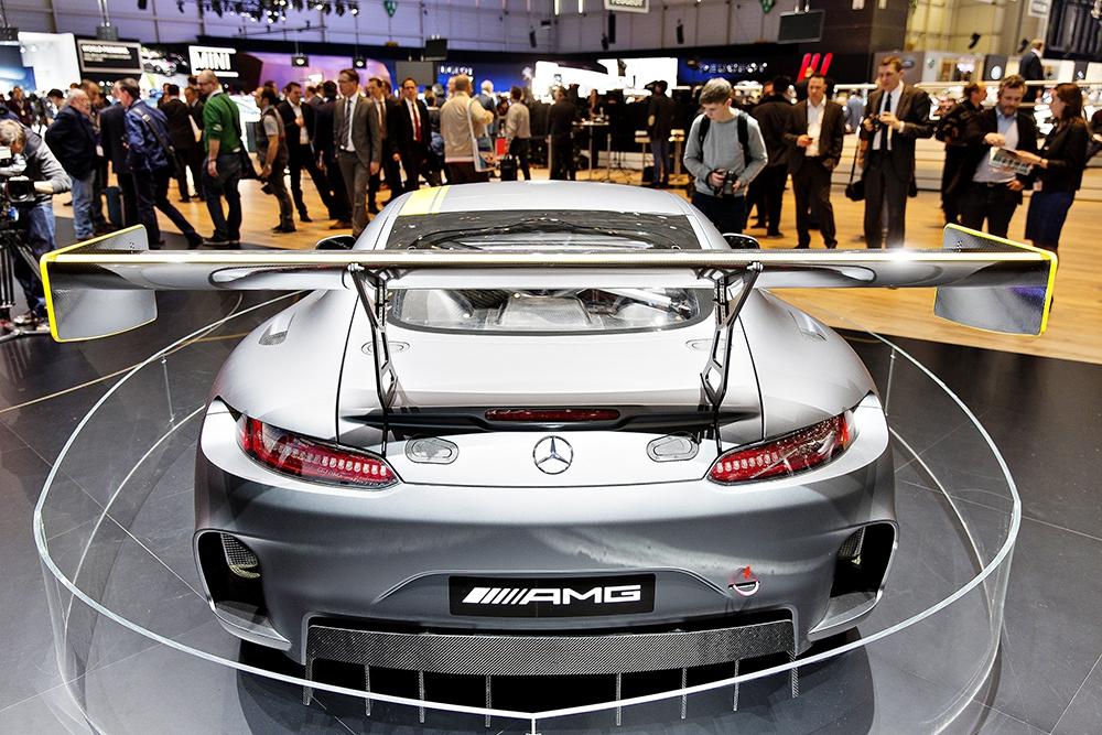 Спорткар Mercedes GT3 AMG