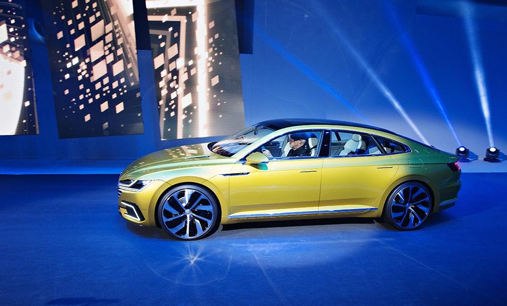 Концепт кар Volkswagen Sport Coupe Concept GTE