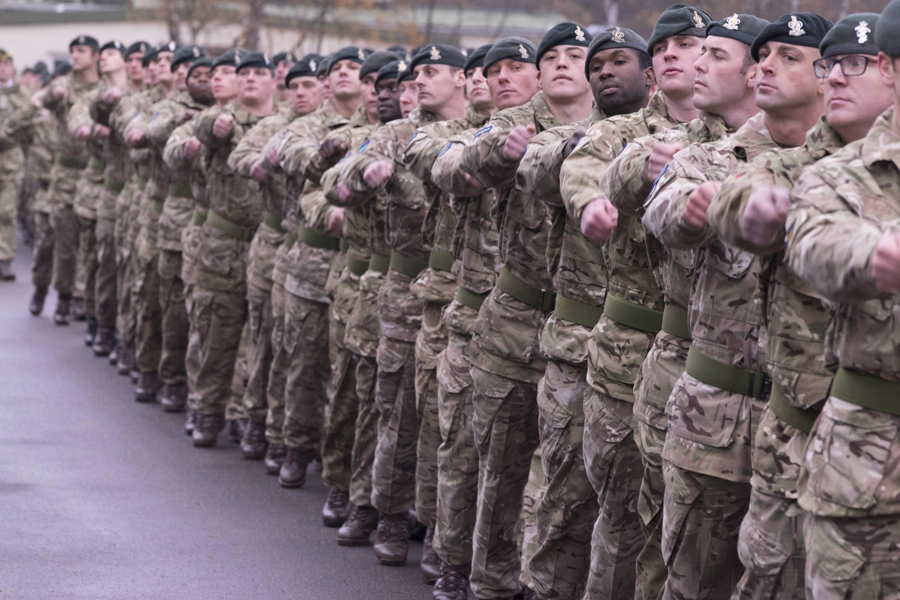 Английские военные