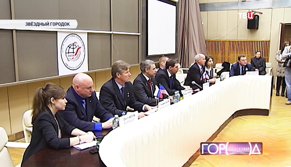 Предполетная пресс-конференция