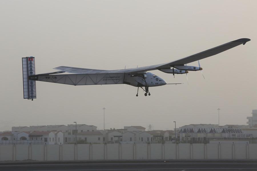 Solar Impulse 2 отправился в первый кругосветный полет