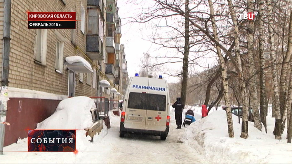 Реанимация на месте происшествия в Кировской области