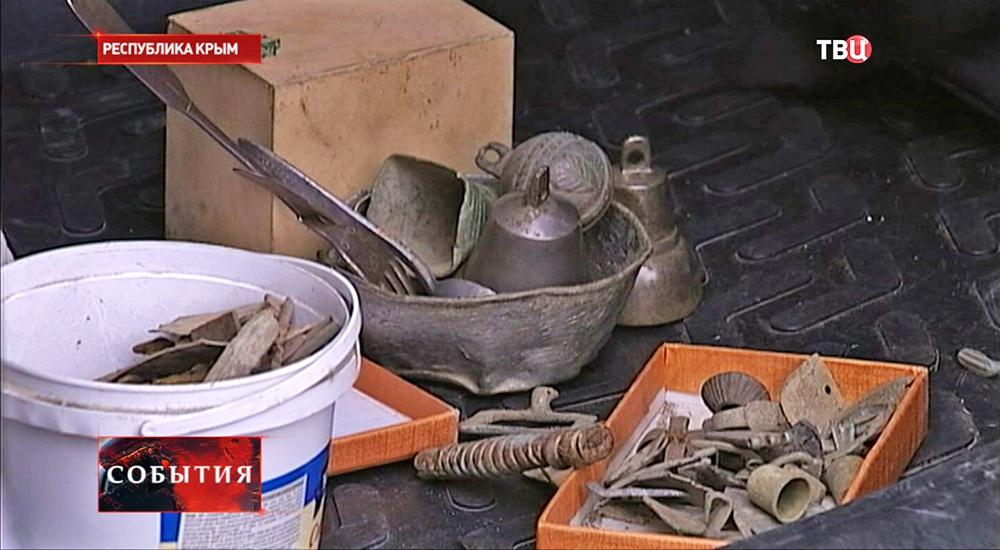 """""""Чёрные копатели"""" в Крыму"""