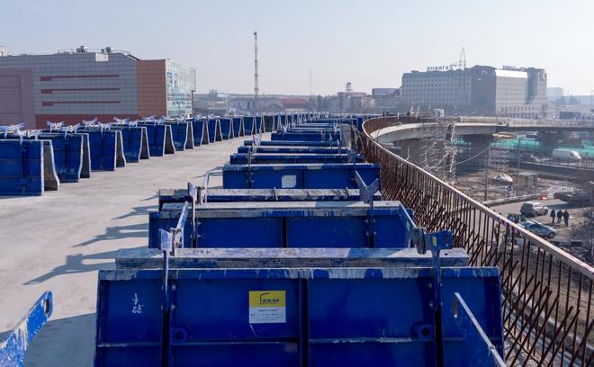 Реконструкция транспортной развязки на пересечении МКАД и Каширского шоссе