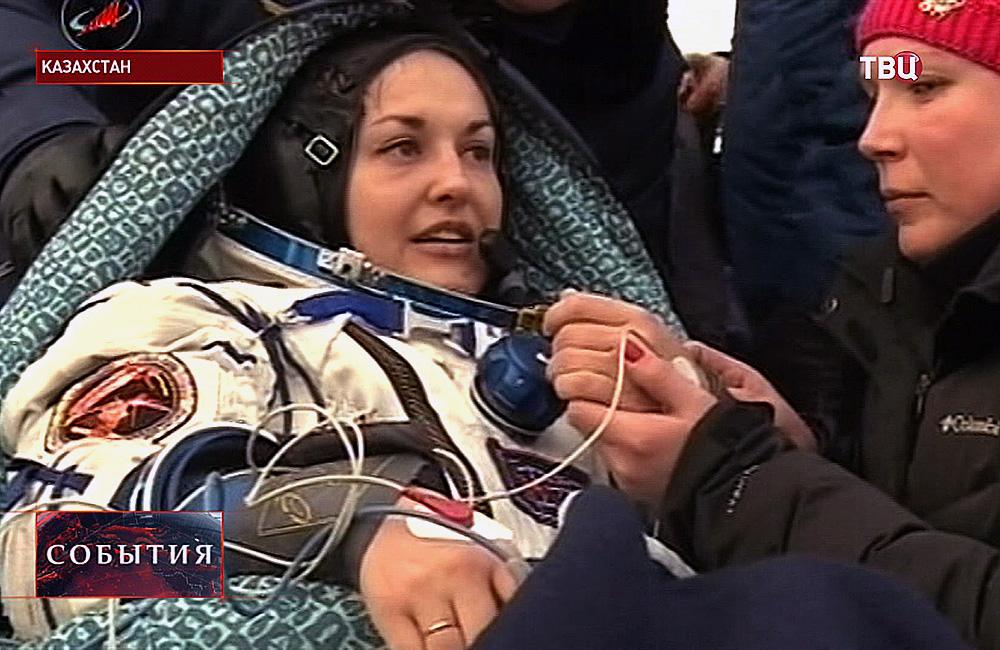 Российский космонавт Елена Серова
