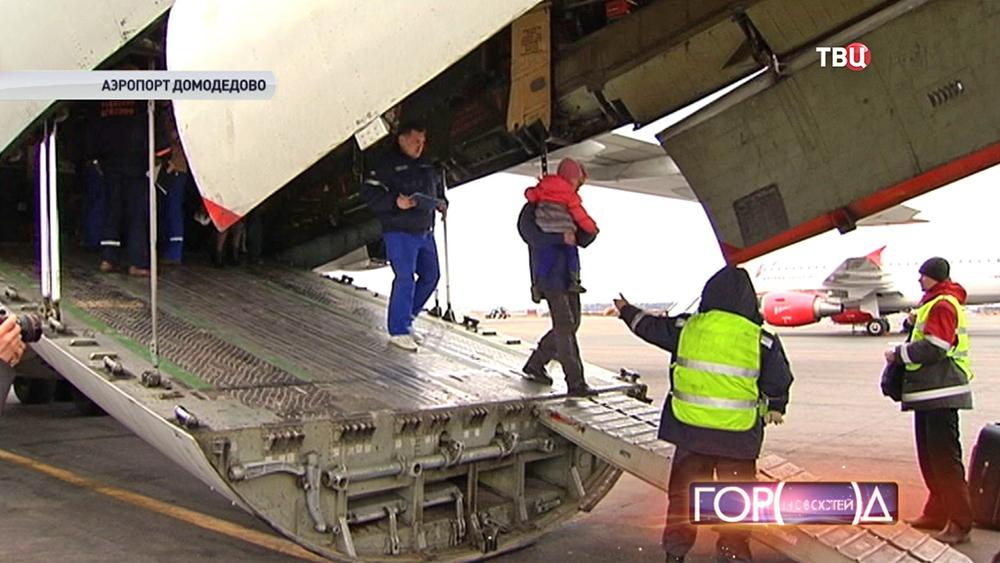 Тяжелобольных детей доставили в Москву из Донбасса